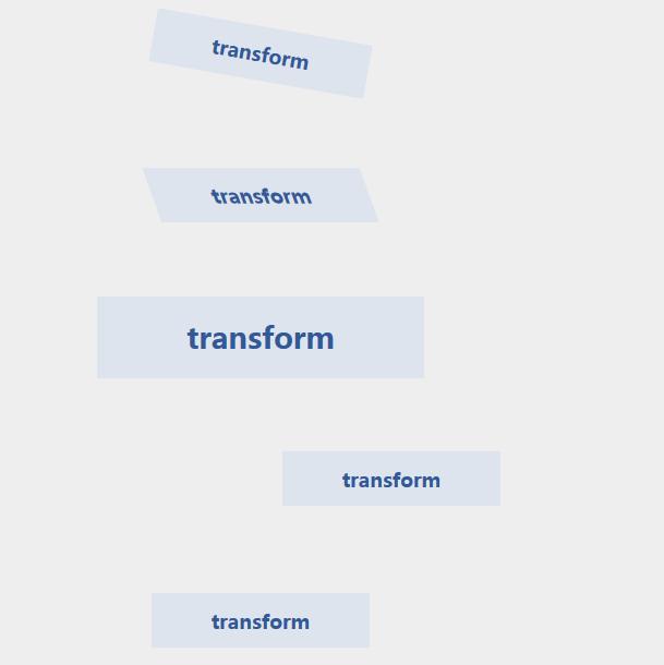 CSS3:transform